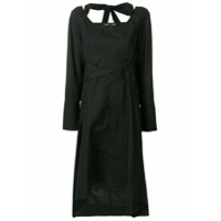 Proenza Schouler Vestido Assimétrico - Preto