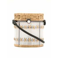 Waiwai Rio Bolsa 'bongo' Vime E Acrílico - Neutro