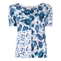Pringle Of Scotland Camiseta Com Estampa Floral - Azul