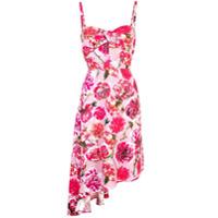 Carmen March Vestido Com Estampa Floral - Rosa