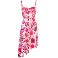 Carmen March Vestido Com Estampa Floral - Rosa