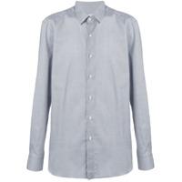 Boglioli Camisa Com Estampa - Azul