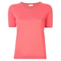 Ballsey Blusa De Tricô Com Decote U - Rosa