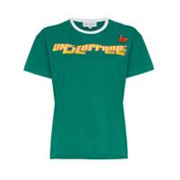 Mira Mikati Camiseta 'unstoppable' Com Bordado - Green