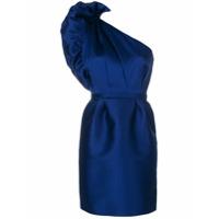 Stella Mccartney Vestido Assimétrico - Azul