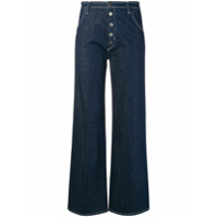 Mih Jeans Calça Jeans Reta - Azul