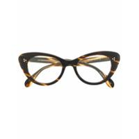 Oliver Peoples Armação De Óculos Gatinho Rishell - Marrom