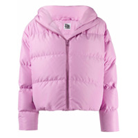 Bacon Cloud Hooded Puffer Jacket - Rosa
