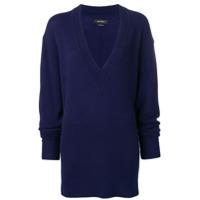 Isabel Marant Cadzi Knit Sweater - Azul
