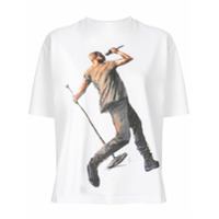 Ih Nom Uh Nit Camiseta Com Estampa Kanye West - Branco