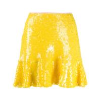 Gina Saia Com Paetês - Amarelo
