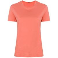 Aspesi Camiseta Decote Arredondado - Rosa