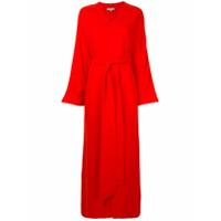 Layeur Vestido Envelope Longo - Vermelho