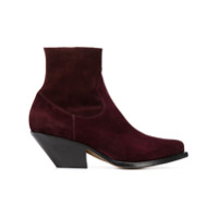 Buttero Ankle Boots - Roxo