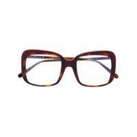 Marni Eyewear Óculos Com Armação Quadrada - Marrom