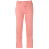 7 For All Mankind Calça Jeans Cropped - Rosa