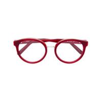 Chloé Eyewear Óculos Redondo - Vermelho