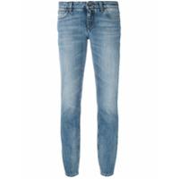 Dolce & Gabbana Calça Jeans Slim Fit Cropped - Azul