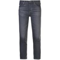 Ag Jeans Calça Jeans Prima Cropped - Cinza