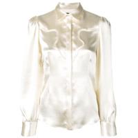 Alexa Chung Tailored Shirt - Neutro
