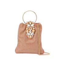 Gedebe Crystal Embellished Tote - Rosa