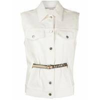 Stella Mccartney Colete Jeans - Branco
