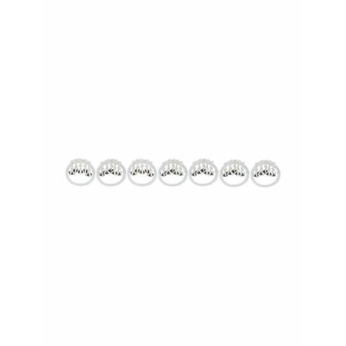 Imagem de E.M. Conjunto de anéis com pingentes - Metálico