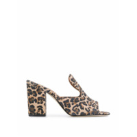 Paris Texas Mule Com Animal Print - Neutro