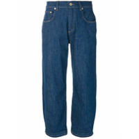Carven Calça Jeans Boyfriend - Azul