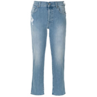 7 For All Mankind Calça Jeans Cropped - Unica