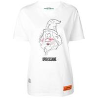 Heron Preston Open Sesame T-Shirt - Branco