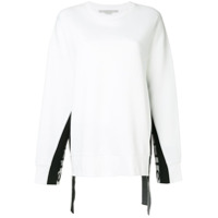 Stella Mccartney Blusa De Moletom Com Logo - Branco