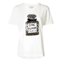 Edward Achour Paris Camiseta 'chic Elixir' - Branco