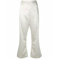 Rixo London Cropped Flared Trousers - Neutro