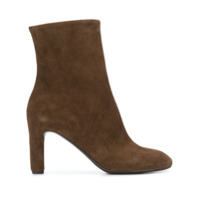 Del Carlo Smooth Ankle Boots - Marrom