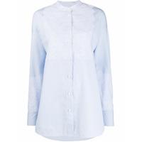 Escada Sport Lace Embellished Shirt - Azul