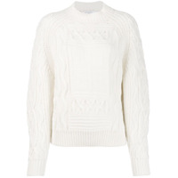 Givenchy 4G Knitted Sweater - Branco