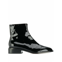 Clergerie Patent Leather Ankle Boots - Preto