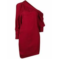 Carmen March Vestido Mangas Longas - Vermelho