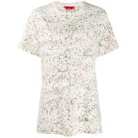 Eckhaus Latta Camiseta Estampada - Branco