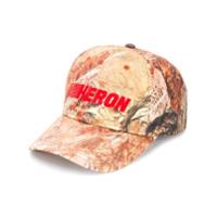 Heron Preston Boné Com Logo - Laranja
