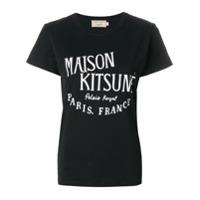 Maison Kitsuné Camiseta 'palais Royal' - Preto