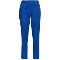Ronald Van Der Kemp Calça Skinny - Cobalt Blue