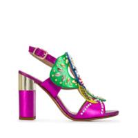 Albano Sapato Com Aplicações - Rosa