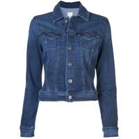 Ag Jeans Jaqueta Jeans Slim - Azul