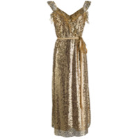 In The Mood For Love Vestido Jasmine - Dourado