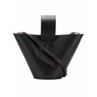 Carolina Santo Domingo Bucket Shoulder Bag - Preto