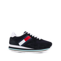 Tommy Jeans Lace-Up Sneakers - Azul