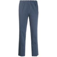 Altea Calça Com Estampa Geométrica - Azul