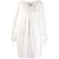 Innika Choo Vestido Com Detalhe De Bolso - Branco
